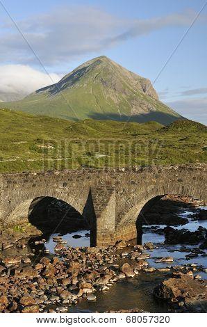 Sligachan Bridge And Marsco
