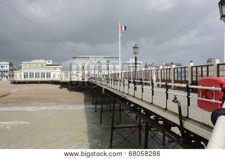 Worthing Pier. Sussex. England