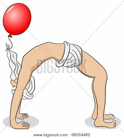 Yogi Who Practices Yoga