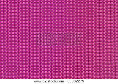 Intertwined grid - red-violet and sandy brown squares pattern.