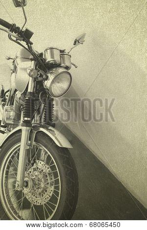 Vintage Background Motorcycle