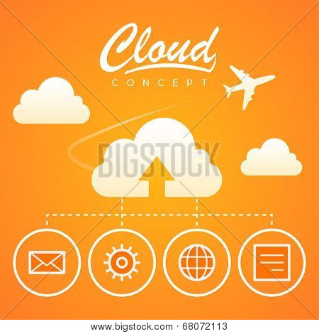 Cloud concept work optimization download