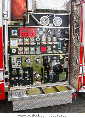 Firefighter Truck Controls