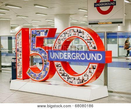 London Tube Anniversary