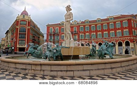 Nice - Place Massena And Apollo