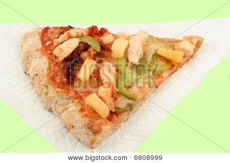 Multigrain Pizza On Napkin