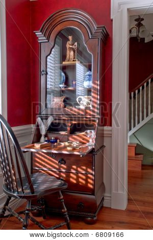 Colonial American Style House Interior