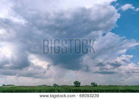 Picturesque Thunderclouds