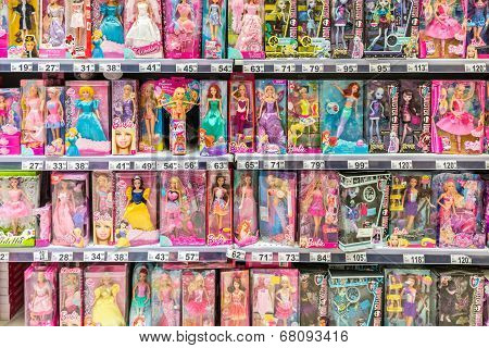 Barbie Toys For Girls