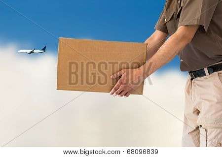Air Parcel Delivery Service