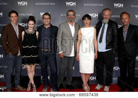 LOS ANGELES - JUL 9:  Manhattan  at the WGN Series Manhattan Photo Op July 2014 TCA at the Beverly Hilton Hotel on July 9, 2014 in Beverly Hills, CA