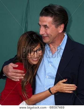LOS ANGELES - JUL 8:  Vanessa Marcil, Billy Baldwin at the Crown Media Networks July 2014 TCA Party at the Private Estate on July 8, 2014 in Beverly Hills, CA