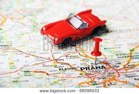 Prague, Czech Republic  Map Auto