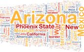 Arizona State Background Concept