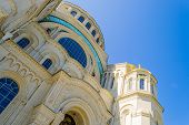 stock photo of nicholas  - Marine Nicholas Cathedral in Kronstadt - JPG