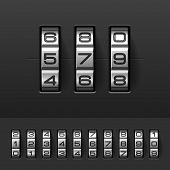 pic of combination lock  - Combination - JPG
