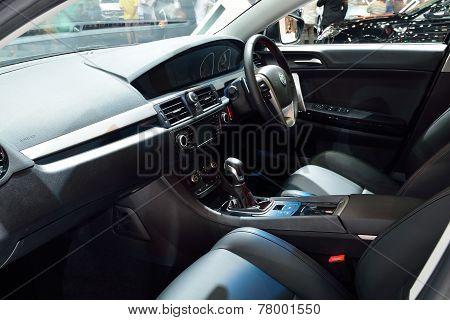 Nonthaburi - December 1: Interior Design Of Mg 6 Car Display At Thailand International Motor Expo On