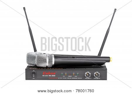 Set Of Wireless Microphone System Enbao