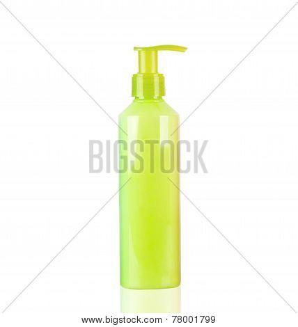 Yellow Neon Lotion Bottle