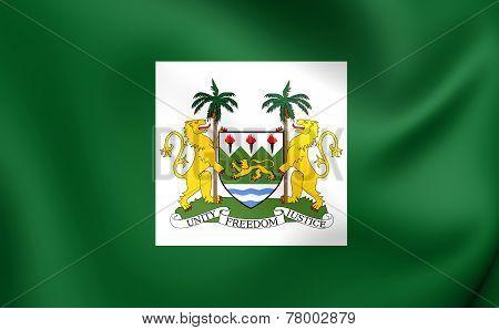 President Standard Of The Sierra Leone