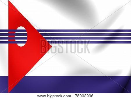 Flag Of Artigas Department, Uruguay.