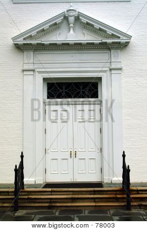 Gothic Church Doors