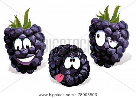 Blackberry Cartoon