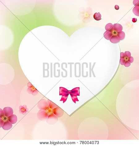 Card Happy Birthday With Gradient Mesh, Vector Illustration