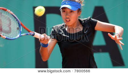 Shuai Zhang (chn) At Roland Garros 2010