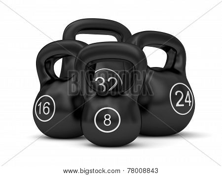 Set Of Iron Weights