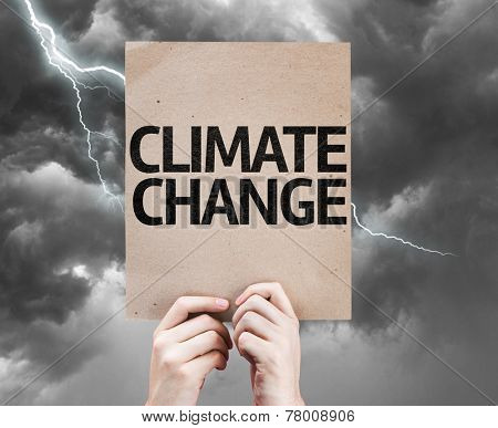 Climate Change card on a bad day