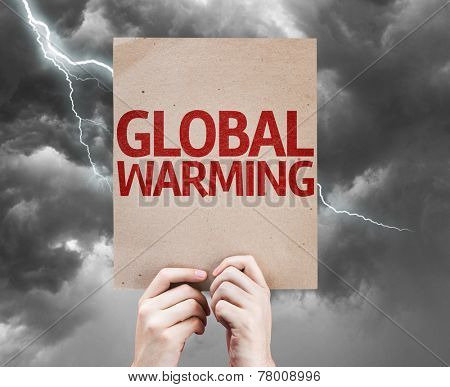 Global Warming card on a bad day