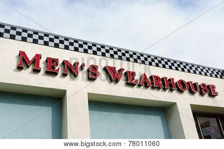 Men's Wearhouse Exterior