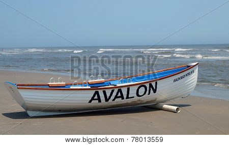 Avalon Beach Patrol Boat