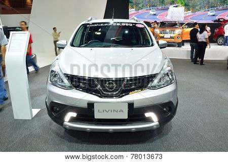 Nonthaburi - December 1: Nissan Livina Car Display At Thailand International Motor Expo On December
