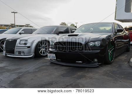 Custom Cars On Display