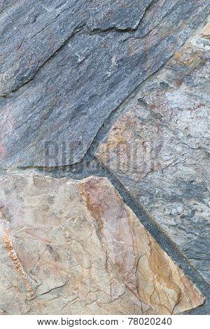 Uneven Stone Surface.