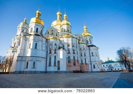 St Andrew's Church facade during daytime, Kiev