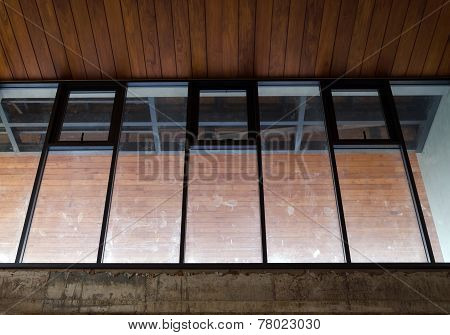 Window Of House Under Construction
