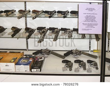 Gunshop In Los Angeles