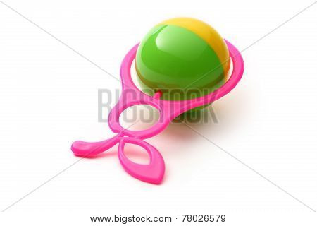Colourful Rattle