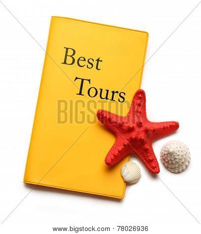 Seastar And Seashells On Best Tours Brochure