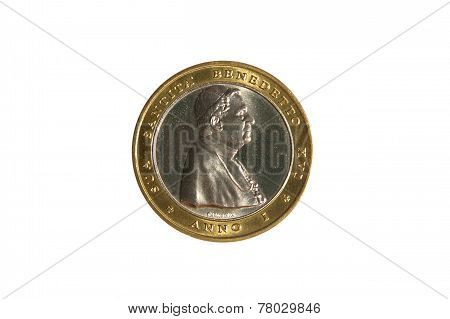 Benedict Xvi Pope Prifile Coin