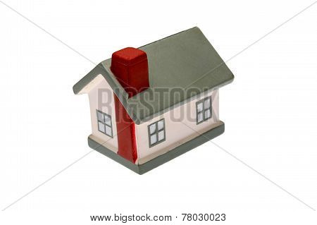 House Model Toy Plastic Isolated