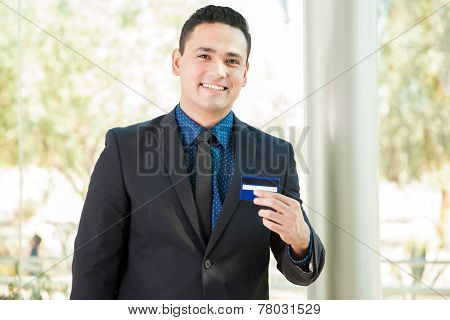 Banker With A Credit Card