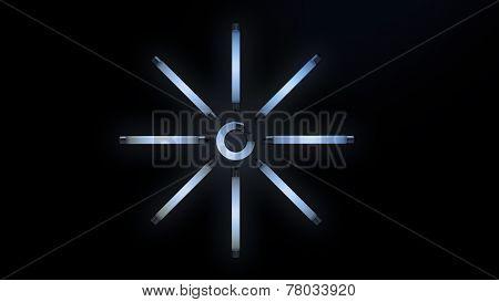 Gign of light