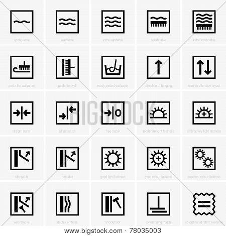 Wall-paper Symbols
