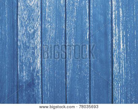 Wood Panel Fence