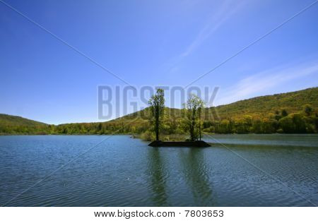 Scenic landscape in Pennsylvania