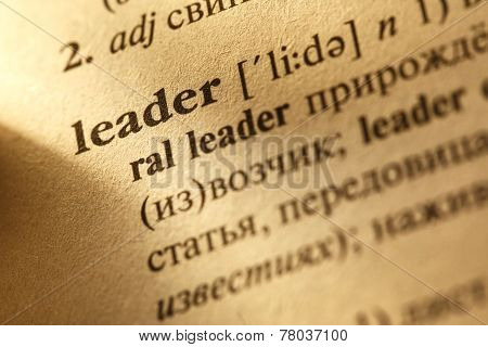 Leader Translation From English Into Russian
